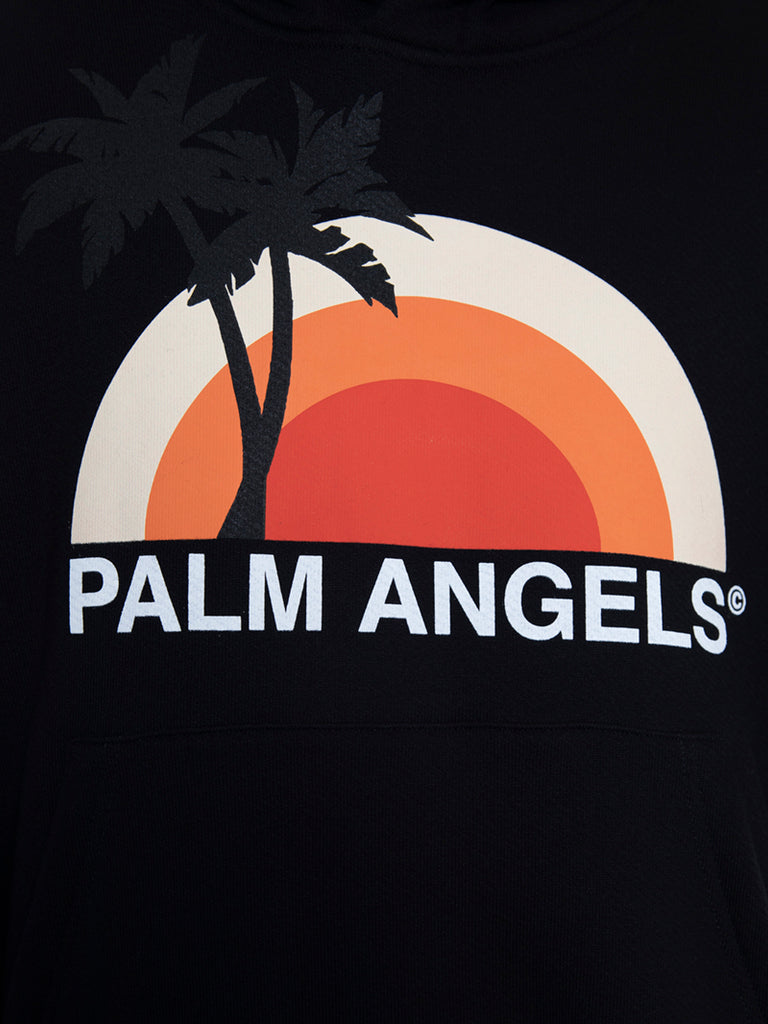Palm Angels Sunset Logo Hoodie