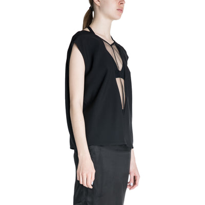 Rick Owens 19S/S V-neck Top