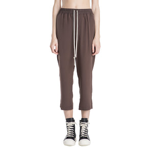 Rick Owens Drawstring Astaire Cropped Pants