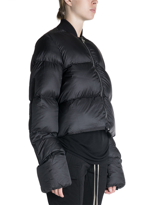 Rick Owens 19F/W Cropped Duvet Down Jacket