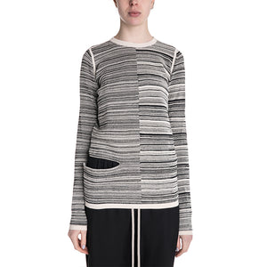 Rick Owens 19S/S Sub/Shred Mix Sweater