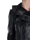 Rick Owens Larry Leather Biker Jacket