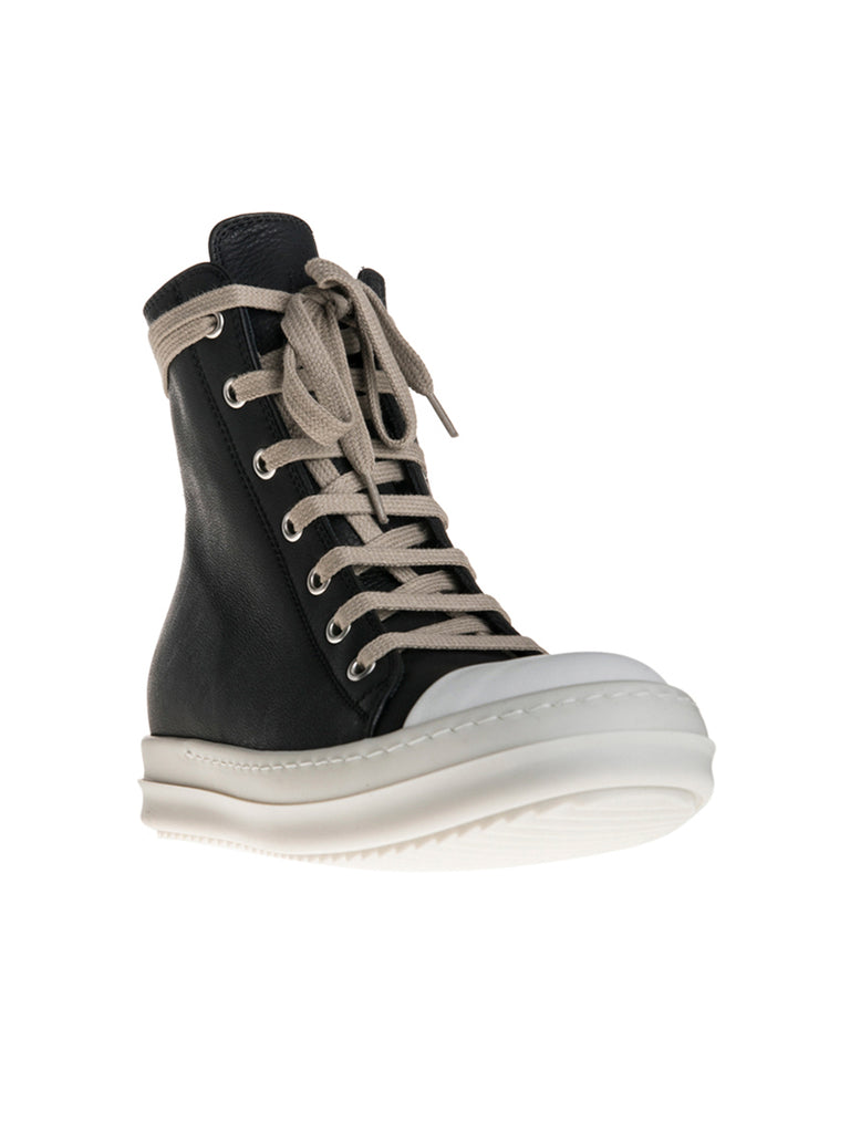 Rick Owens High Top Leather Ramones