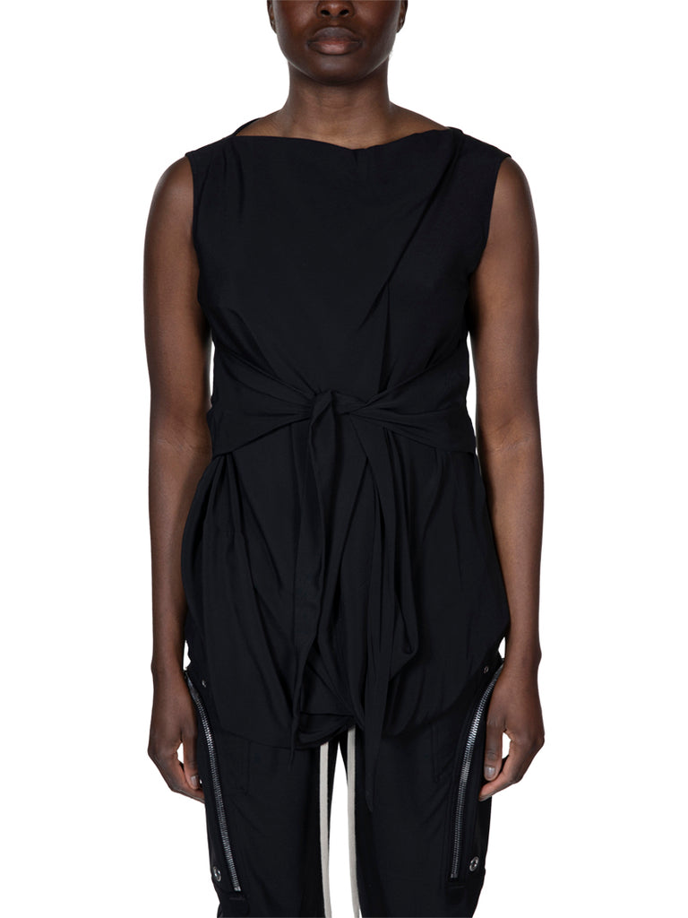 Rick Owens Slash Neck Top