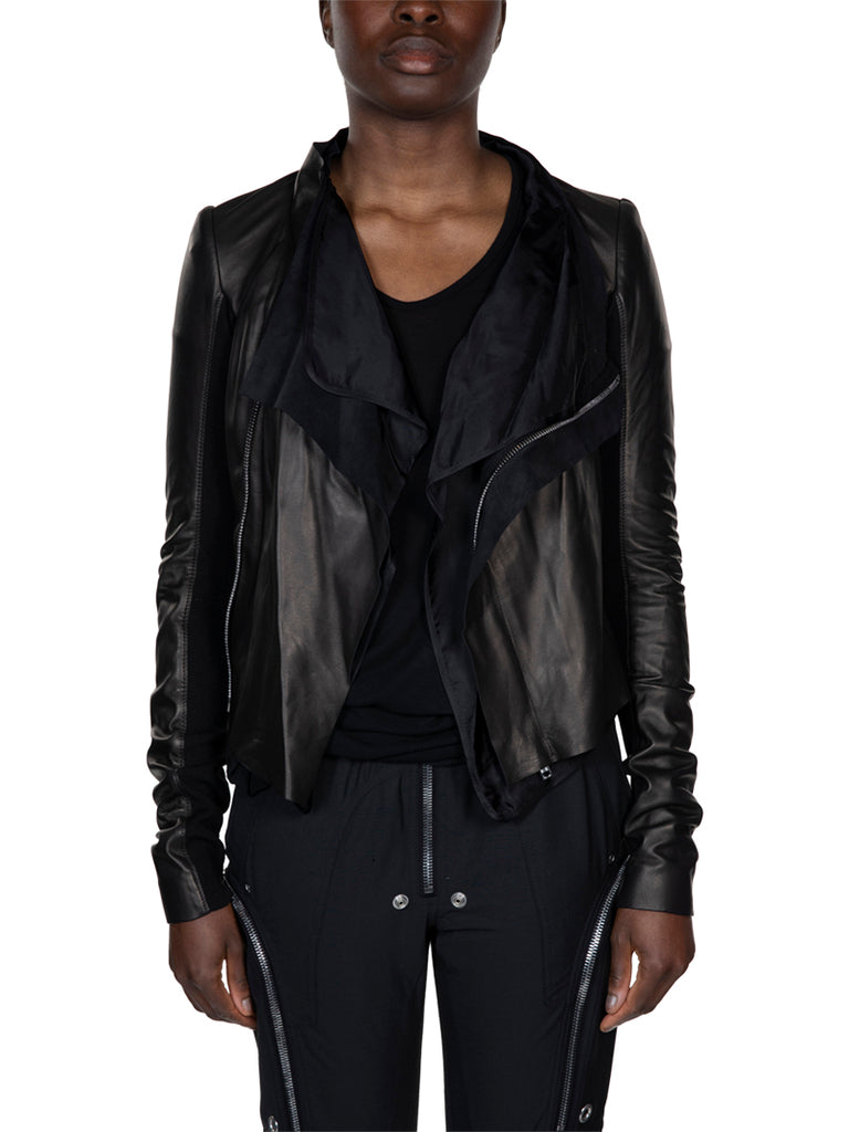 Rick Owens Low Neck Biker