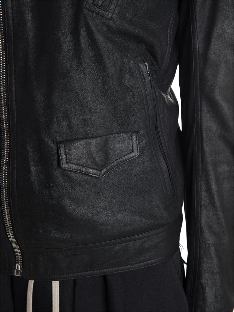 Rick Owens 19F/W Stooges Leather Jacket
