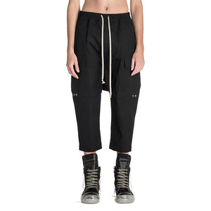 Rick Owens 19S/S Drawstring Cargo Cropped Pants