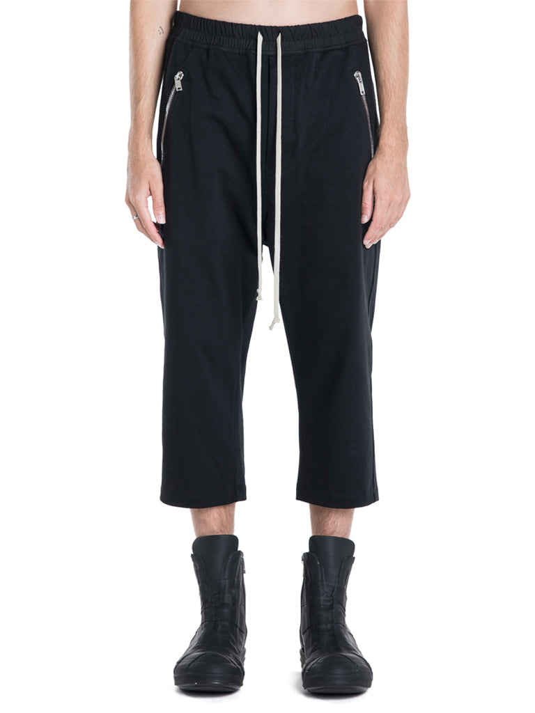 Rick Owens Tecuatl Cropped Sweatpants