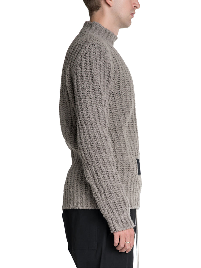 Rick Owens Chunky Lupetto Knit