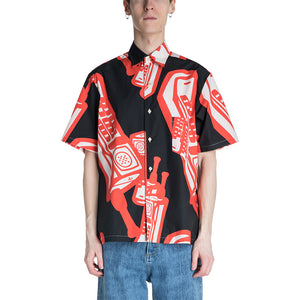 Maison Margiela 19S/S Telephone Printed Shirt