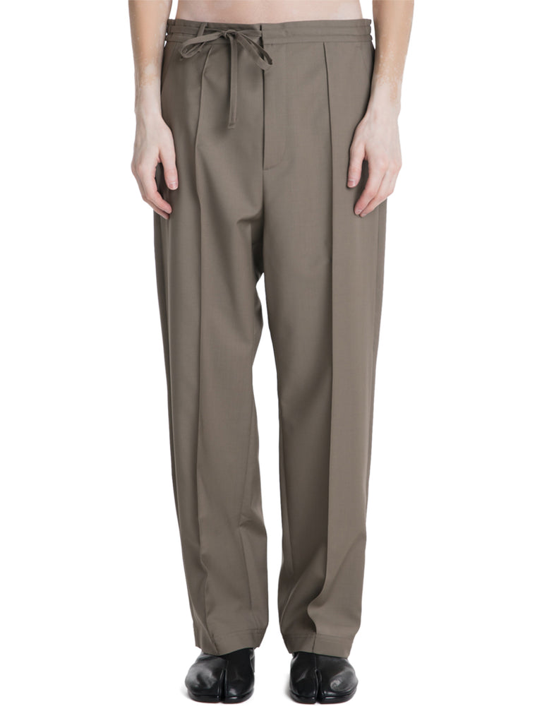 Maison Margiela Relaxed Wool Trousers