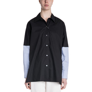 MM6 19S/S Mixed Sleeve Shirt
