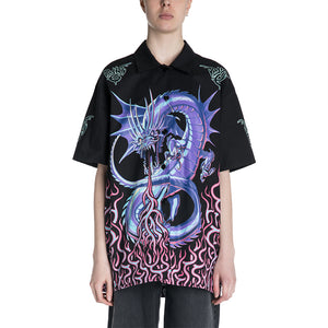 Maison Margiela MM6 19S/S Dragon Printed Shirt