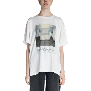 Maison Margiela MM6 19S/S Sofa Printed T-shirt
