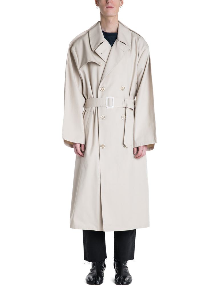 Maison Margiela Fold Seam Trench Coat