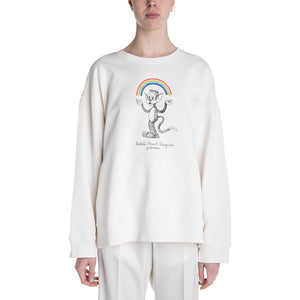 MM6 19S/S Printed Sweatshirt