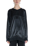 Maison Margiela MM6 Satin Oversized Sweater