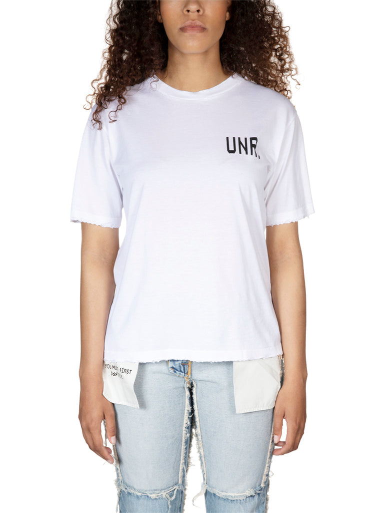Unravel Project Distressed LAX Logo Skate Tee