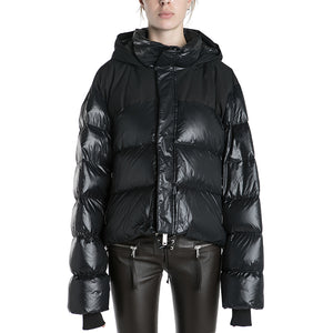 Unravel Project Shiny Down Jacket
