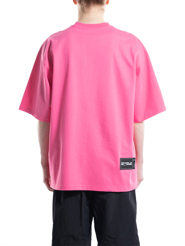 WE11DONE Oversized Logo Print Tee