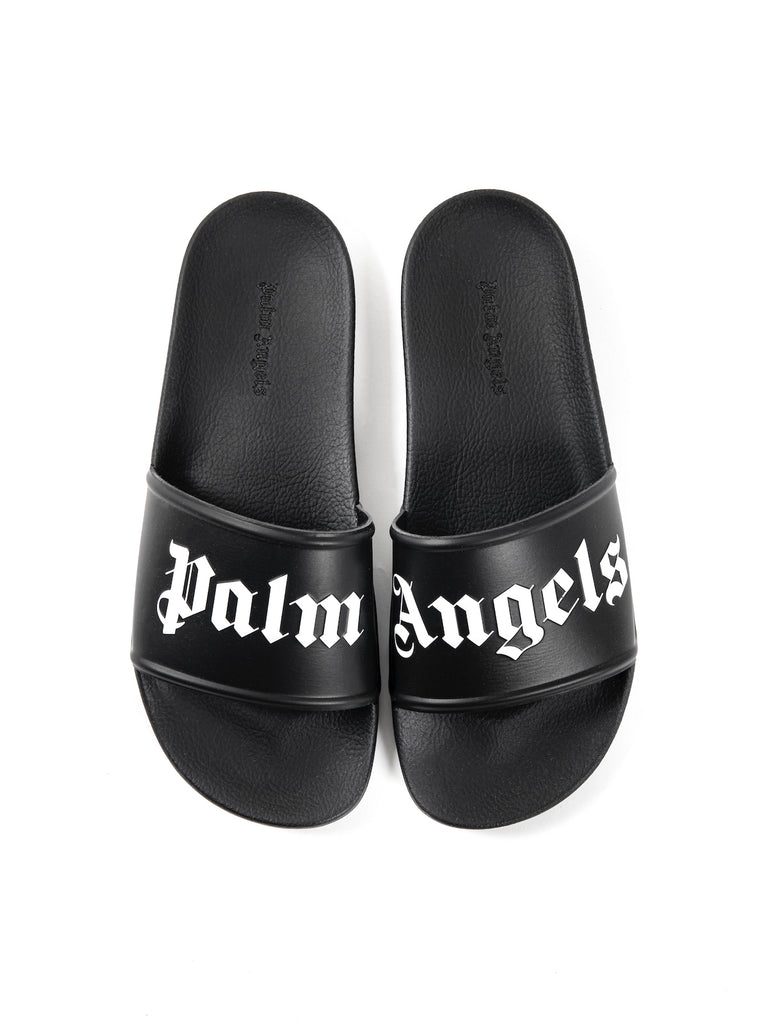 Palm Angels Logo Print Flip-Flops