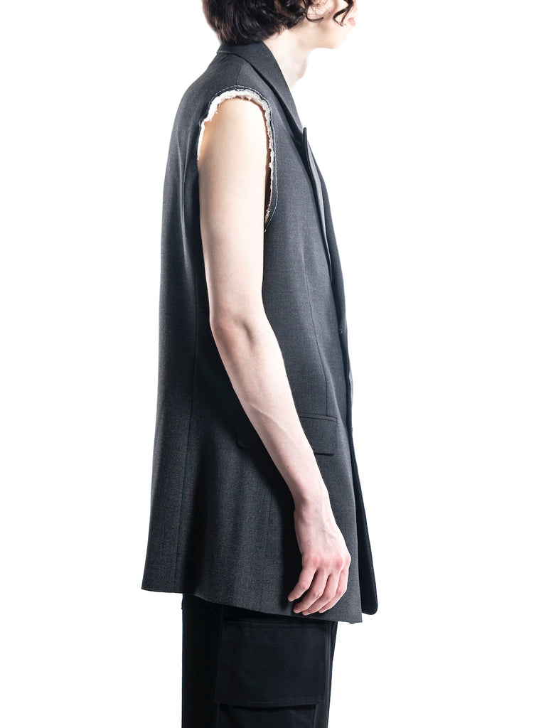 Raf Simons Sleeveless Tailored Jacket