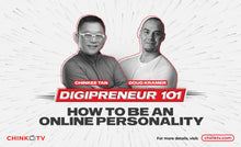 Load image into Gallery viewer, Digipreneur 101: How to Become a Social Media Personality by Chinkee Tan with Doug Kramer