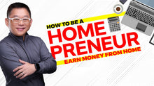 Load image into Gallery viewer, How to Become a HOMEPRENEUR: Earn Money from Home