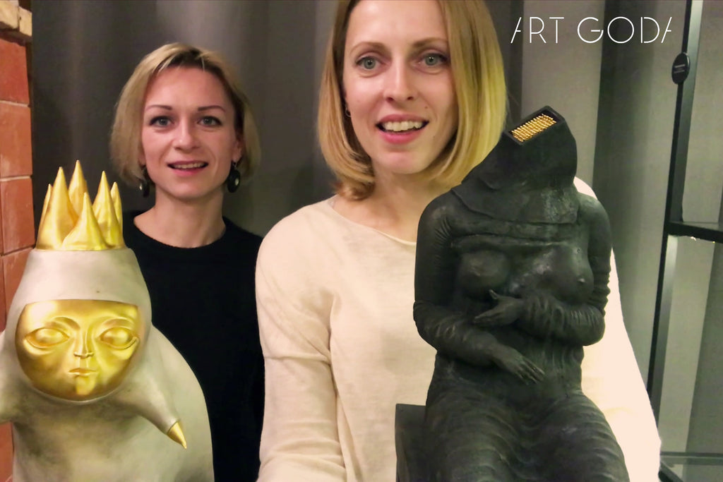 Let's visit a sculpture studio in Vilnius!