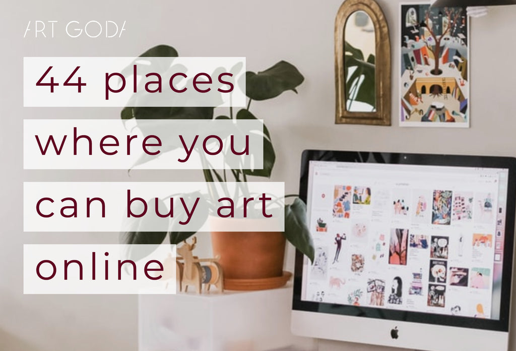 44 places where you can buy art online