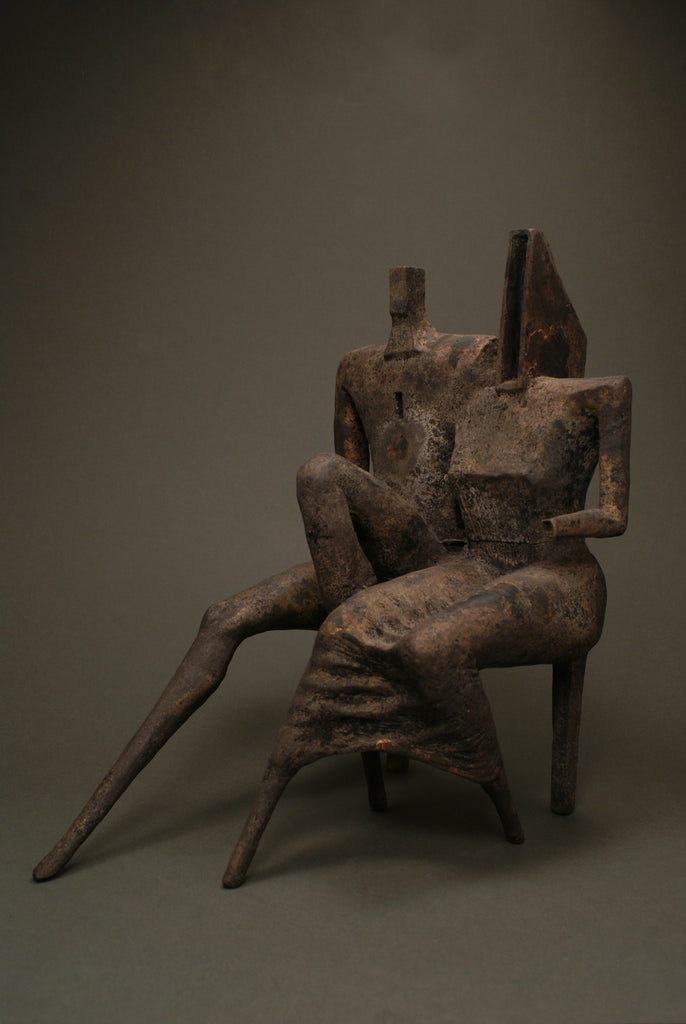 Contemporary bronze sculpture by Gediminas Endnriekus