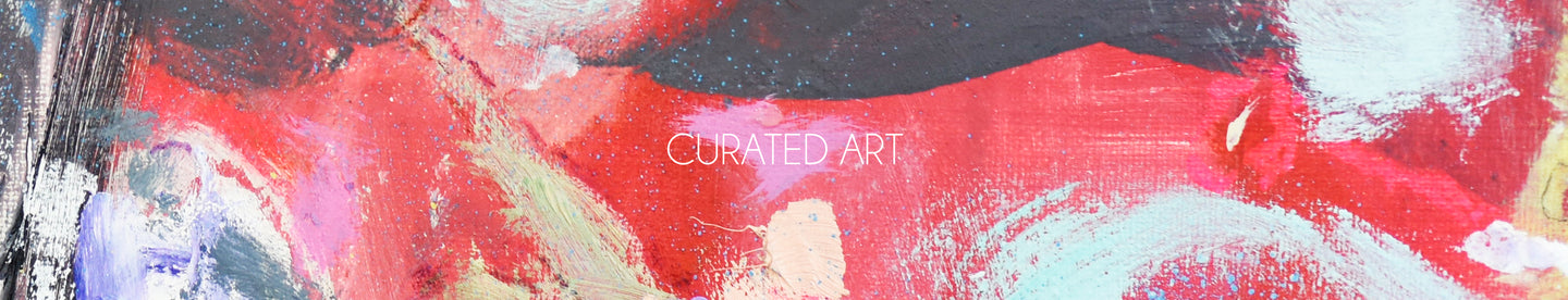 Curated abstract art