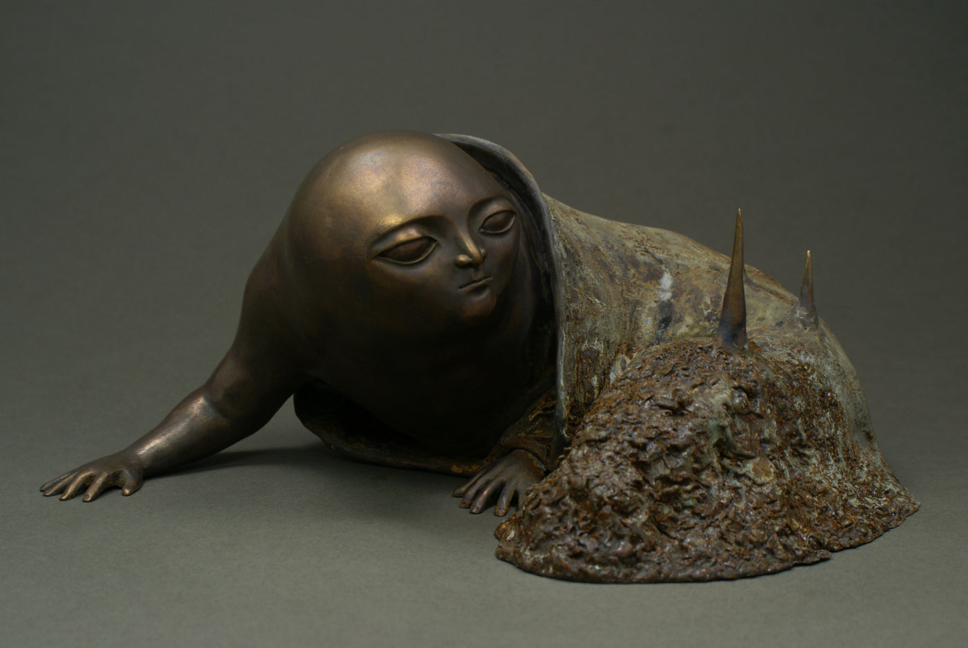 Bronze sculpture art  by Aurelija Simkute
