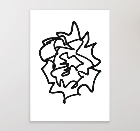 Black on White 1 | Printable Art