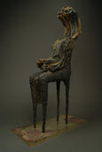 Contemporary bronze sculpture art for sale