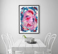 Painting printable abstract walla rt