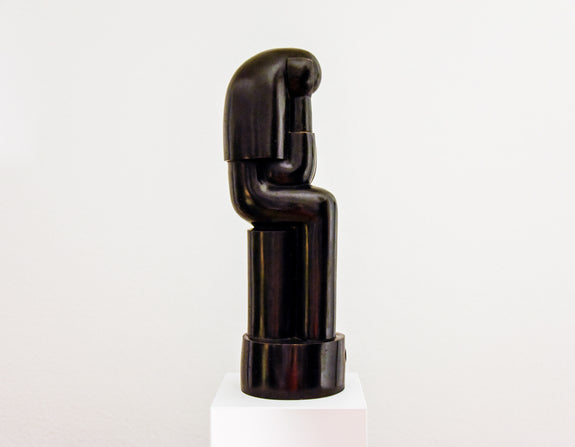 Minimalist sculpture art - Thinker