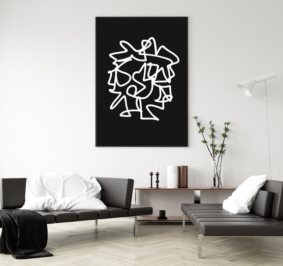printable wall art black and white line art