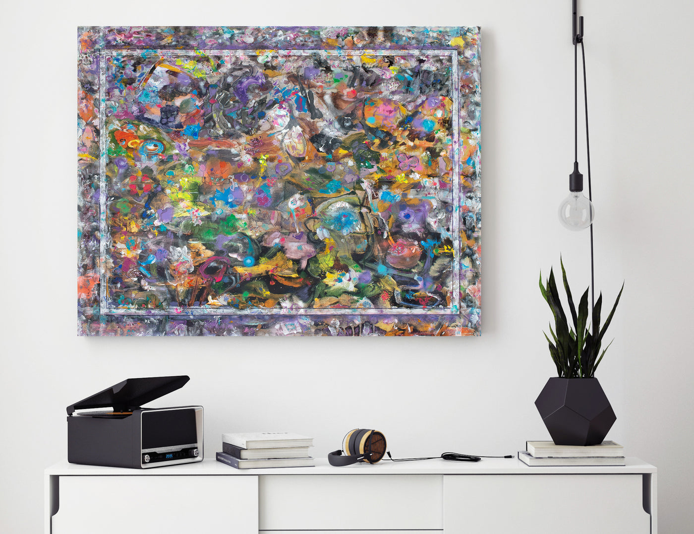 Colourful abstract art for sale