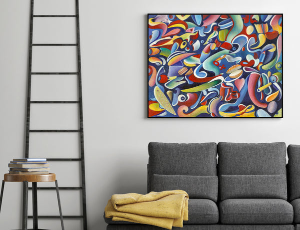 Abstract art print for sale