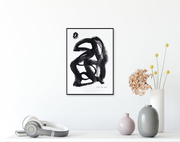 Abstract in drawing for sale - online art gallery