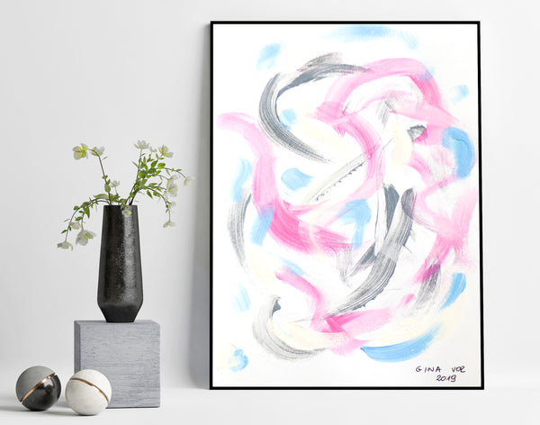 Affordable abstract art for sale online