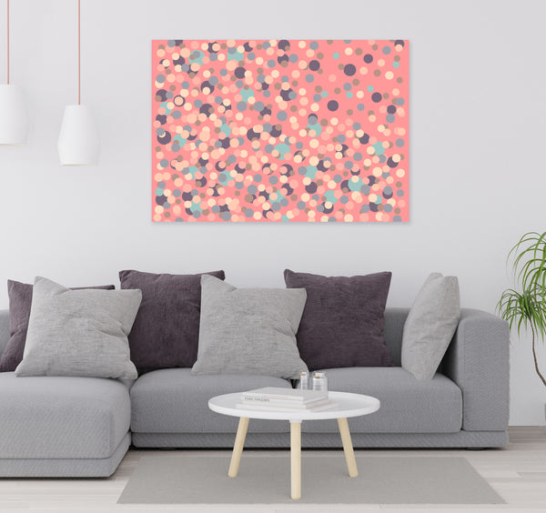 Printable abstract geometric art