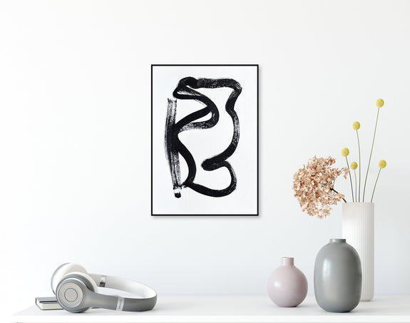 Abstract ink art for sale