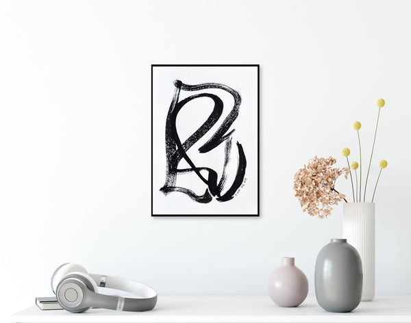 Abstract ink art for sale - online gallery