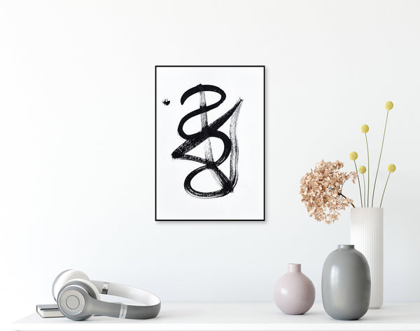 Abstract minimalist art for sale online