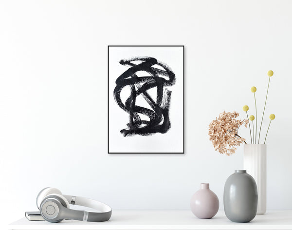 Abstract minimalist art for sale - online art gallery
