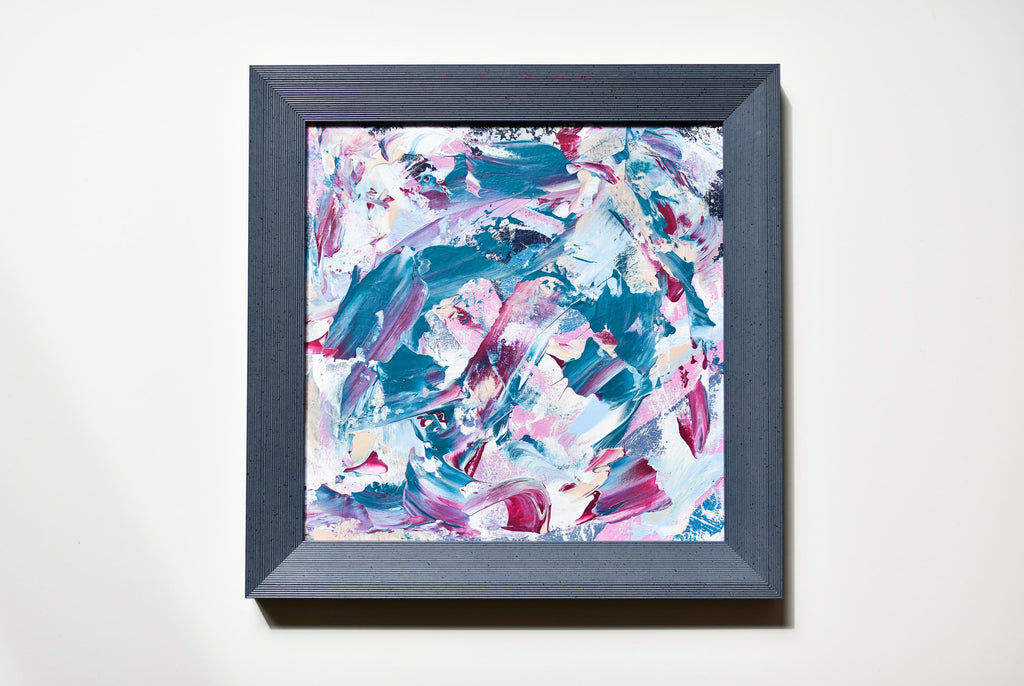 Abstract painting by Gina Vor