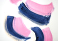 Pink and navy blue art for sale online