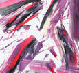 Art on paper - beautiful and affordable abstract painting